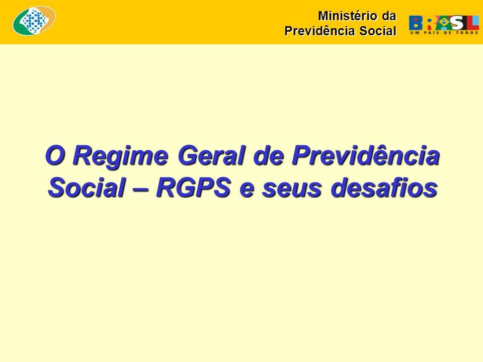 O Regime Geral de Previdência Social – RGPS e seus desafios