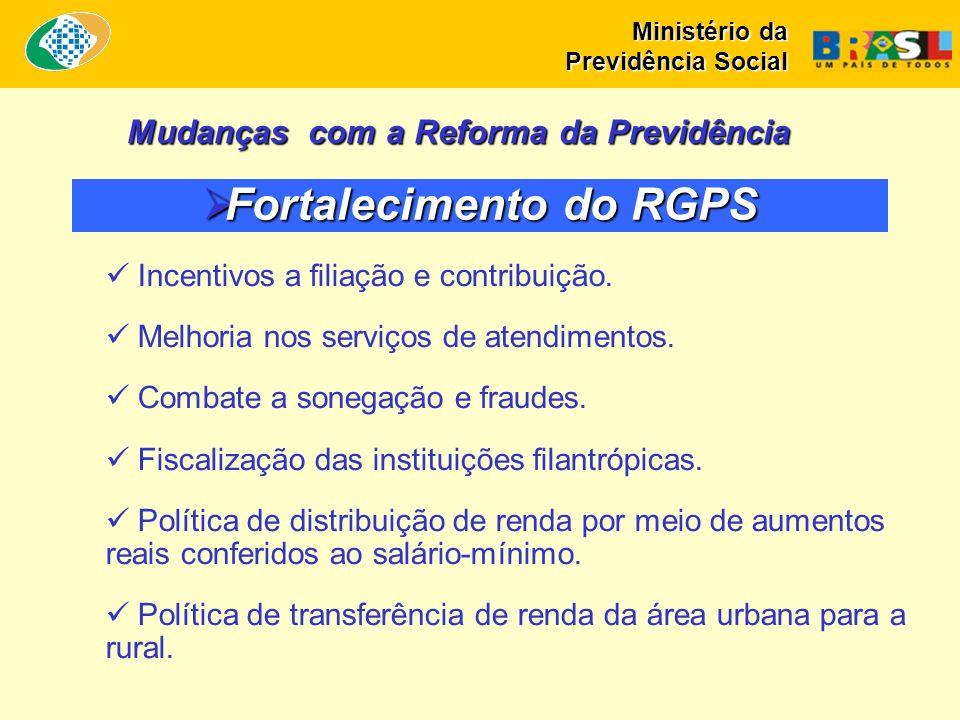Fortalecimento do RGPS