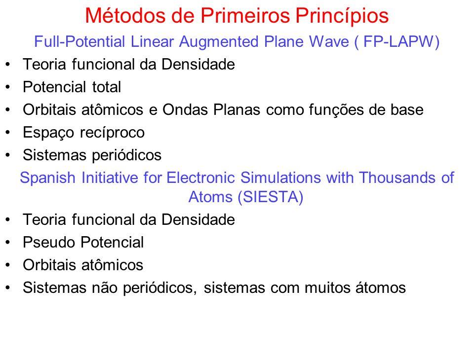 Métodos de Primeiros Princípios