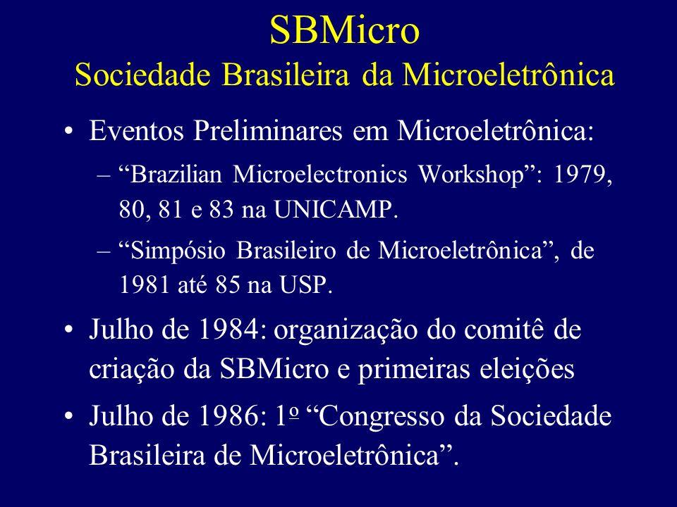 SBMicro Sociedade Brasileira da Microeletrônica
