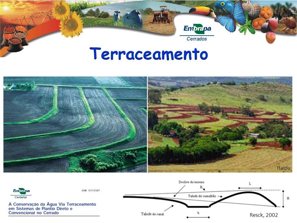 Terraceamento Itaipu Resck, 2002