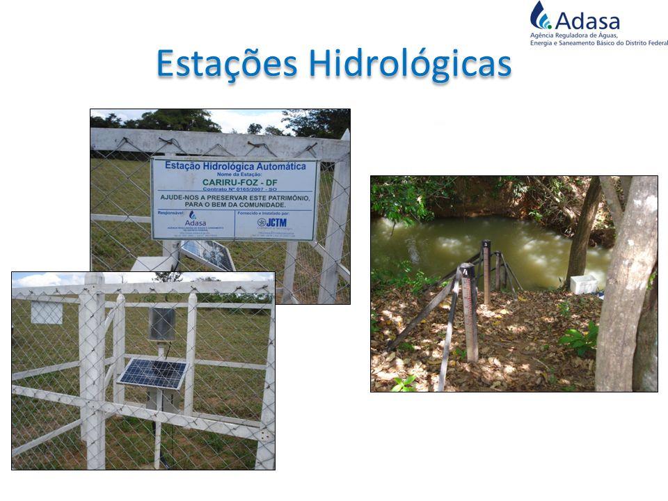 Estações Hidrológicas