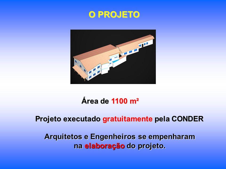 Arquitetos e Engenheiros se empenharam na elaboração do projeto.