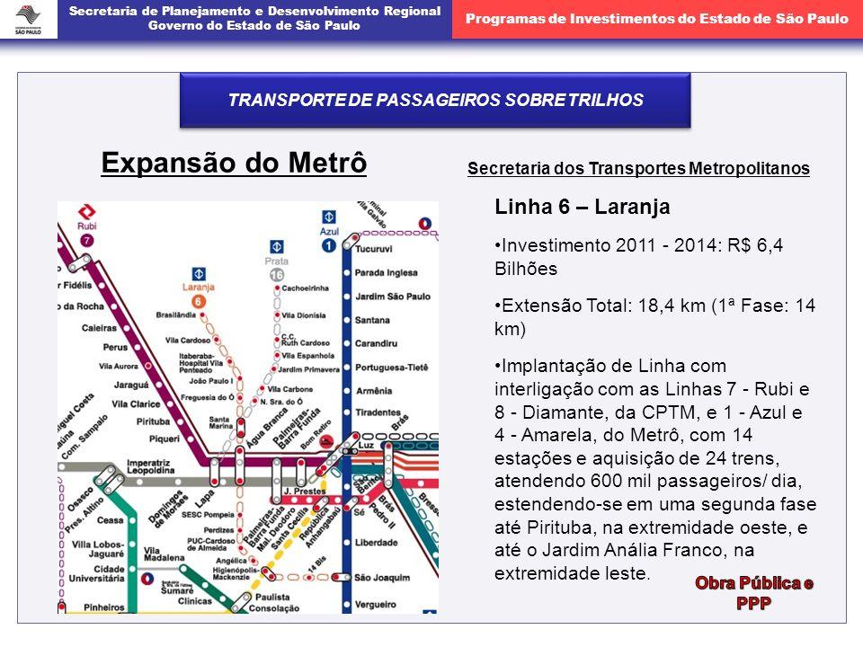 Expansão do Metrô Linha 6 – Laranja