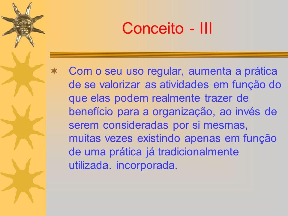 Conceito - III