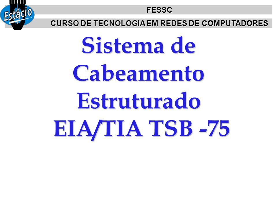 Sistema de Cabeamento Estruturado EIA/TIA TSB -75