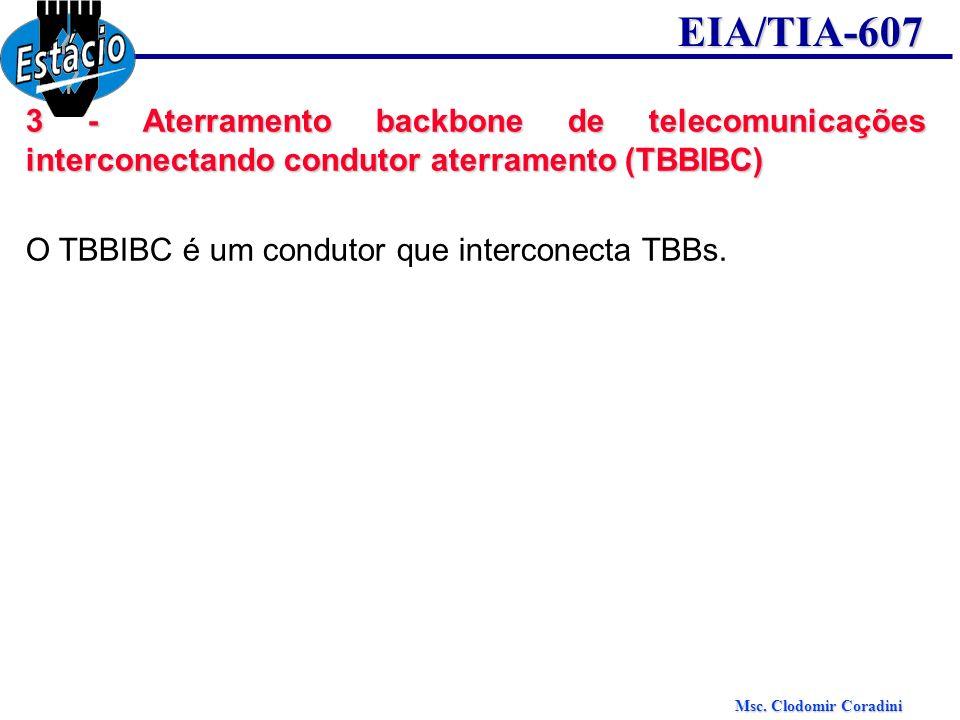 3 - Aterramento backbone de telecomunicações interconectando condutor aterramento (TBBIBC)