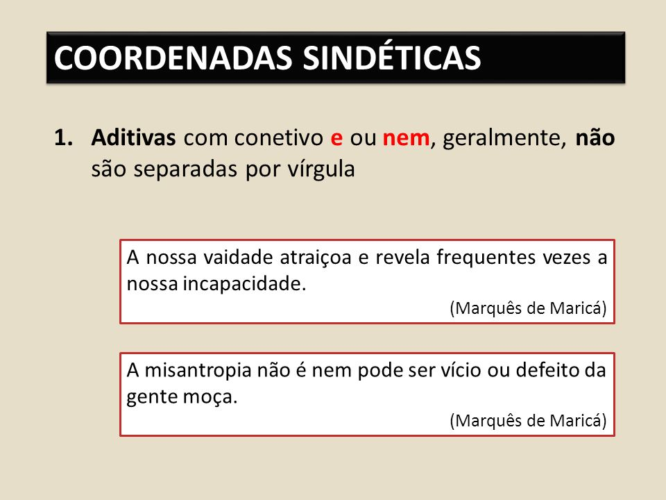 COORDENADAS SINDÉTICAS