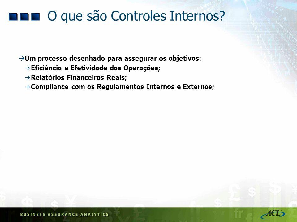 O que são Controles Internos