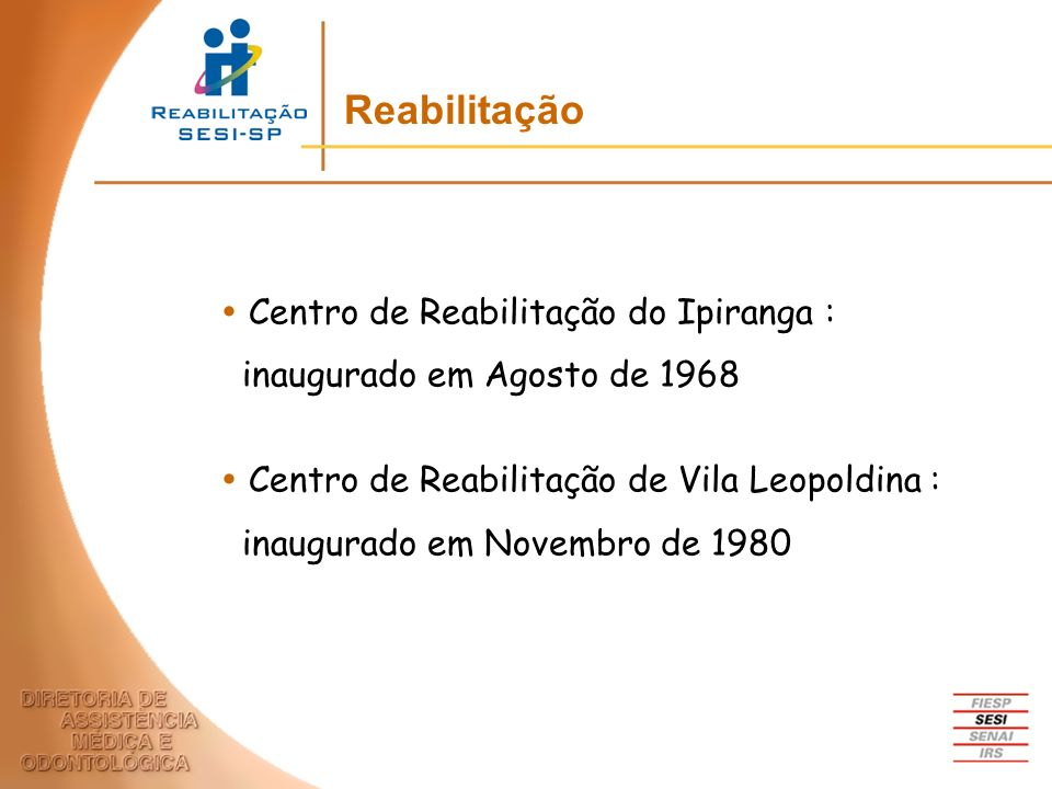 Reabilitação Centro de Reabilitação do Ipiranga :