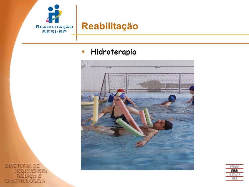 Reabilitação Hidroterapia
