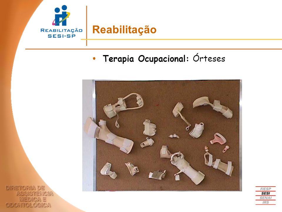 Reabilitação Terapia Ocupacional: Órteses
