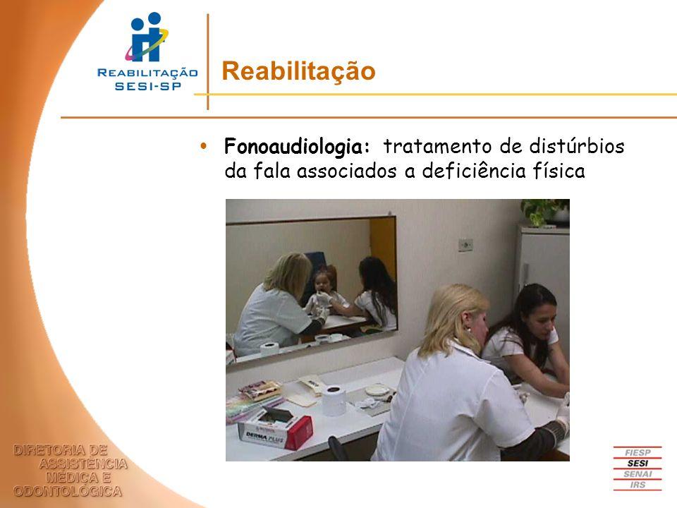 Reabilitação Fonoaudiologia: tratamento de distúrbios da fala associados a deficiência física