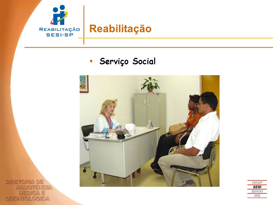 Reabilitação Serviço Social