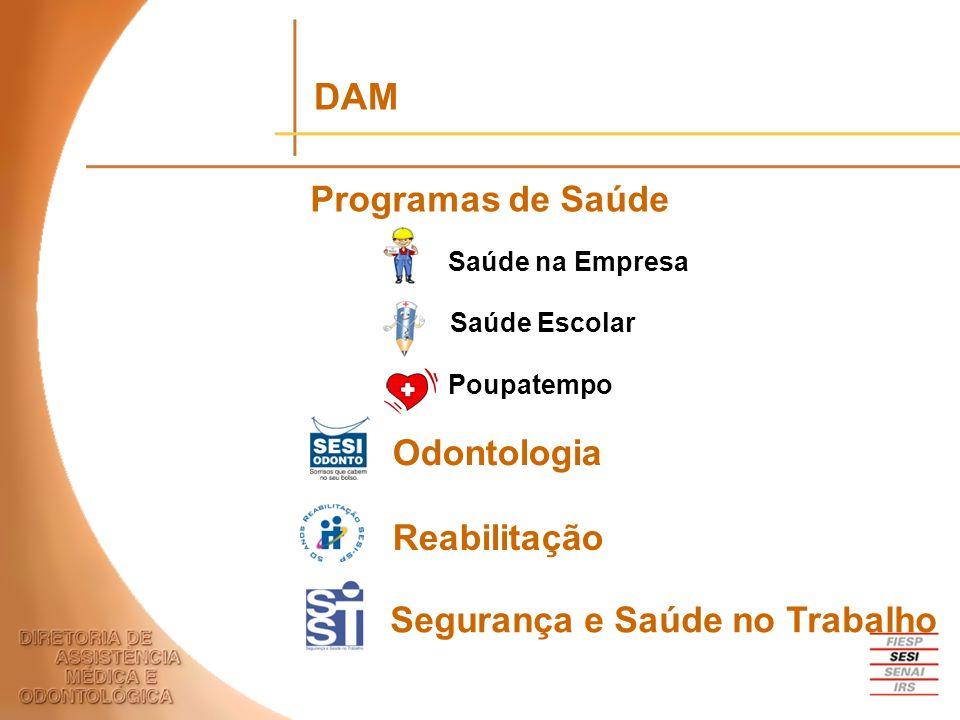 DAM Programas de Saúde Odontologia Reabilitação