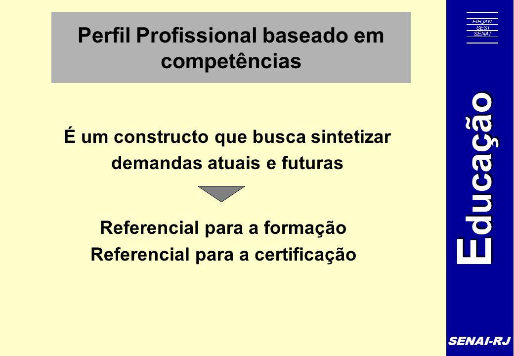 Perfil Profissional baseado em competências