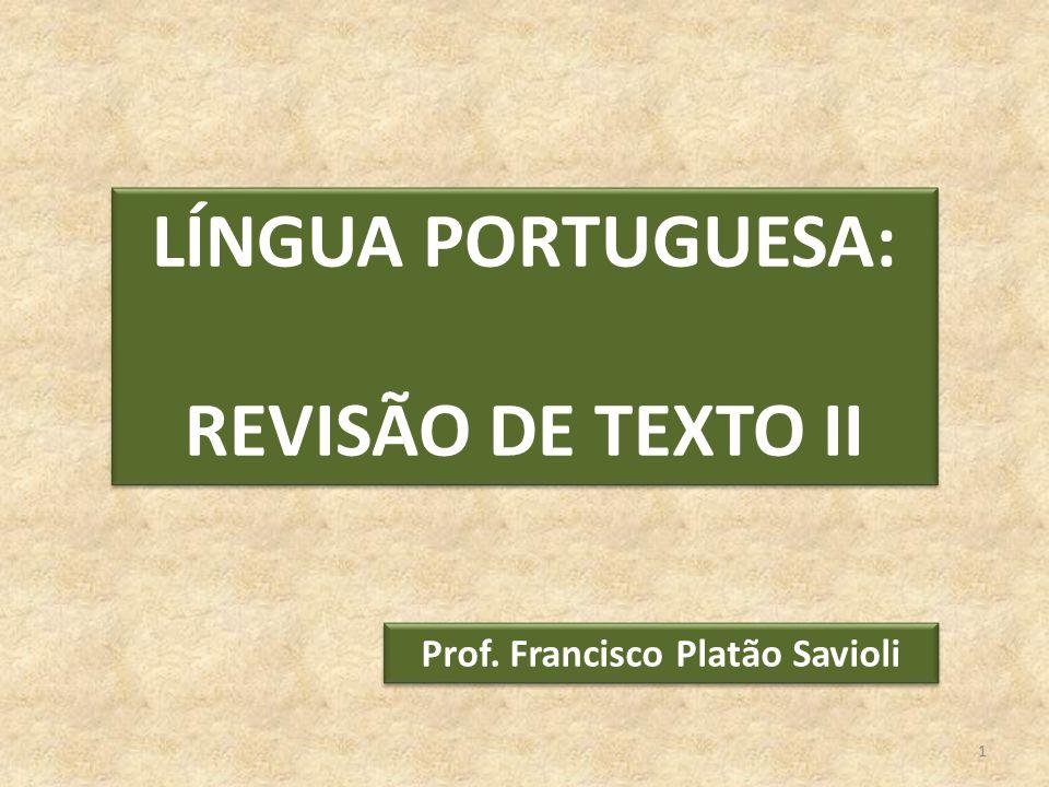 Prof. Francisco Platão Savioli