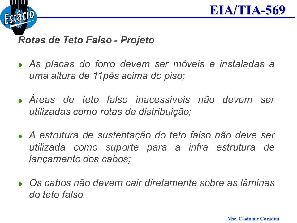 Rotas de Teto Falso - Projeto