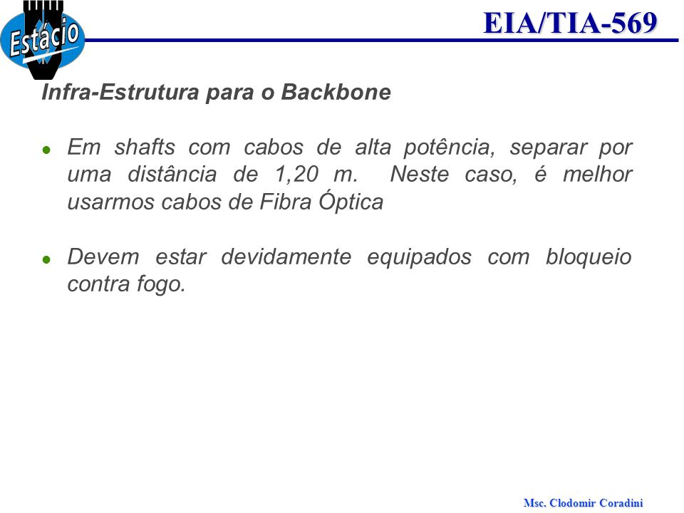 Infra-Estrutura para o Backbone