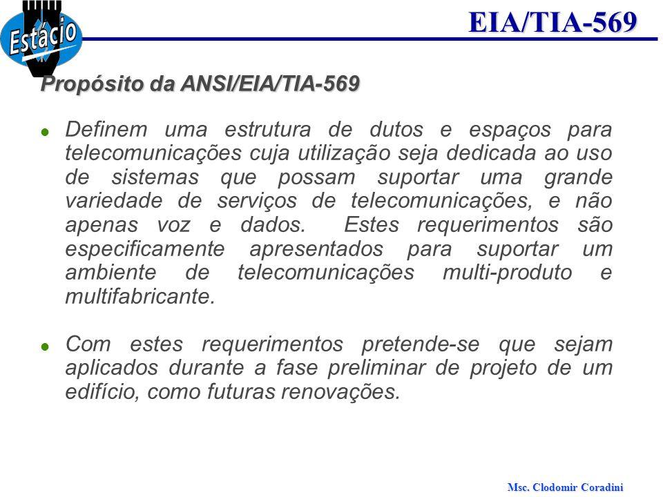 Propósito da ANSI/EIA/TIA-569