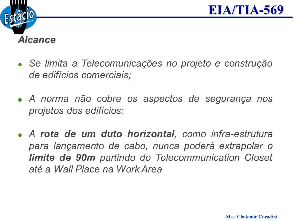 Alcance Se limita a Telecomunicações no projeto e construção de edifícios comerciais;