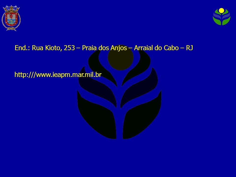 End.: Rua Kioto, 253 – Praia dos Anjos – Arraial do Cabo – RJ