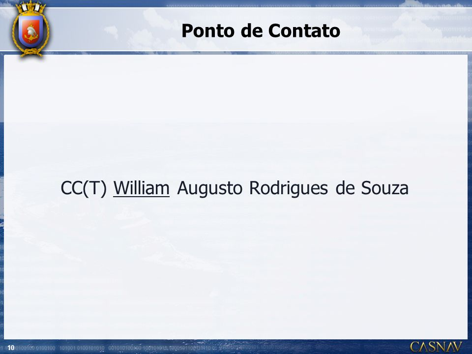 CC(T) William Augusto Rodrigues de Souza