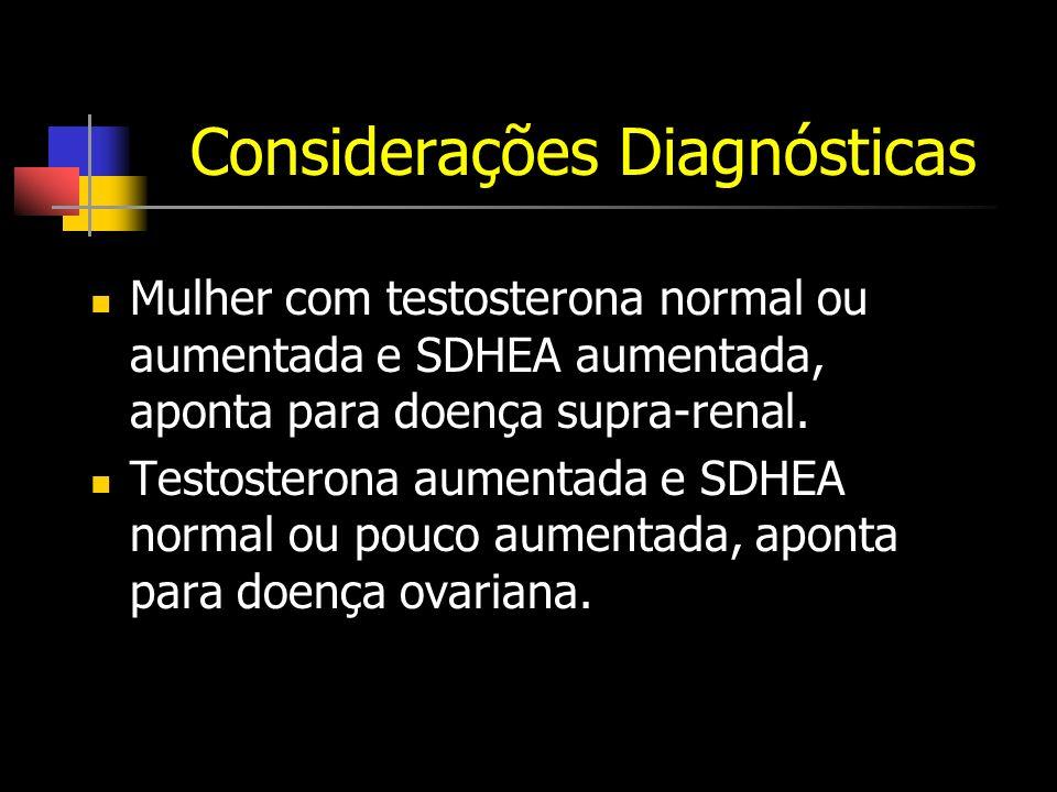 Considerações Diagnósticas
