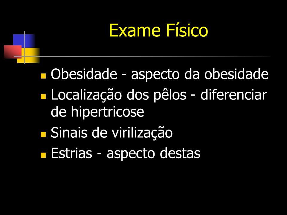 Exame Físico Obesidade - aspecto da obesidade