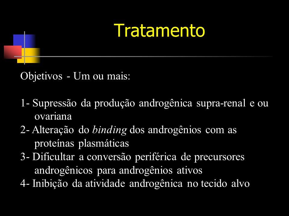 Tratamento Objetivos - Um ou mais: