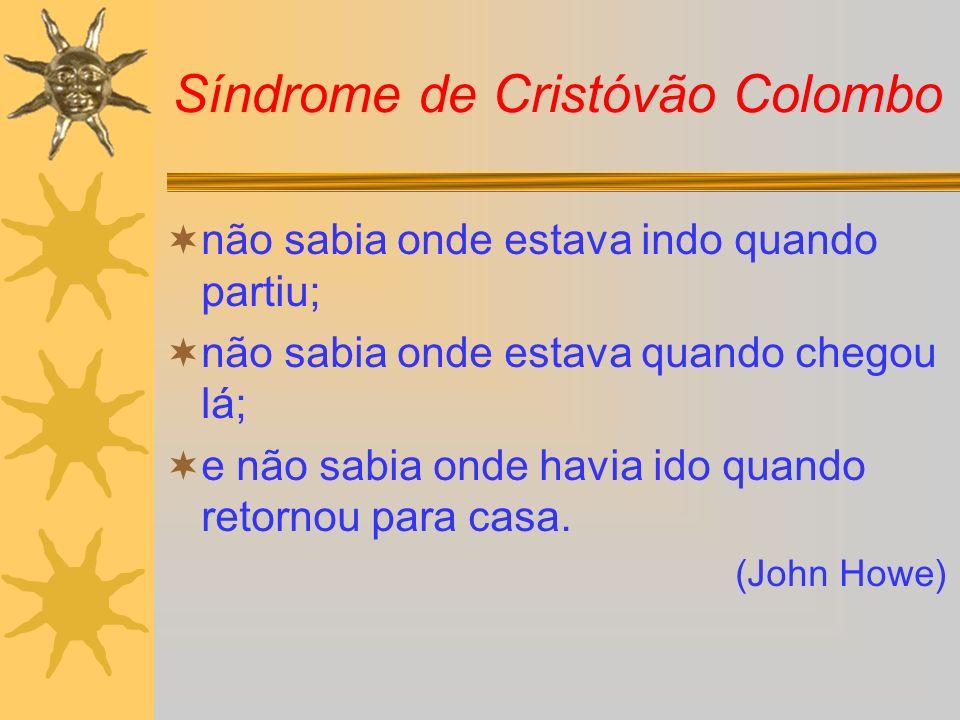 Síndrome de Cristóvão Colombo