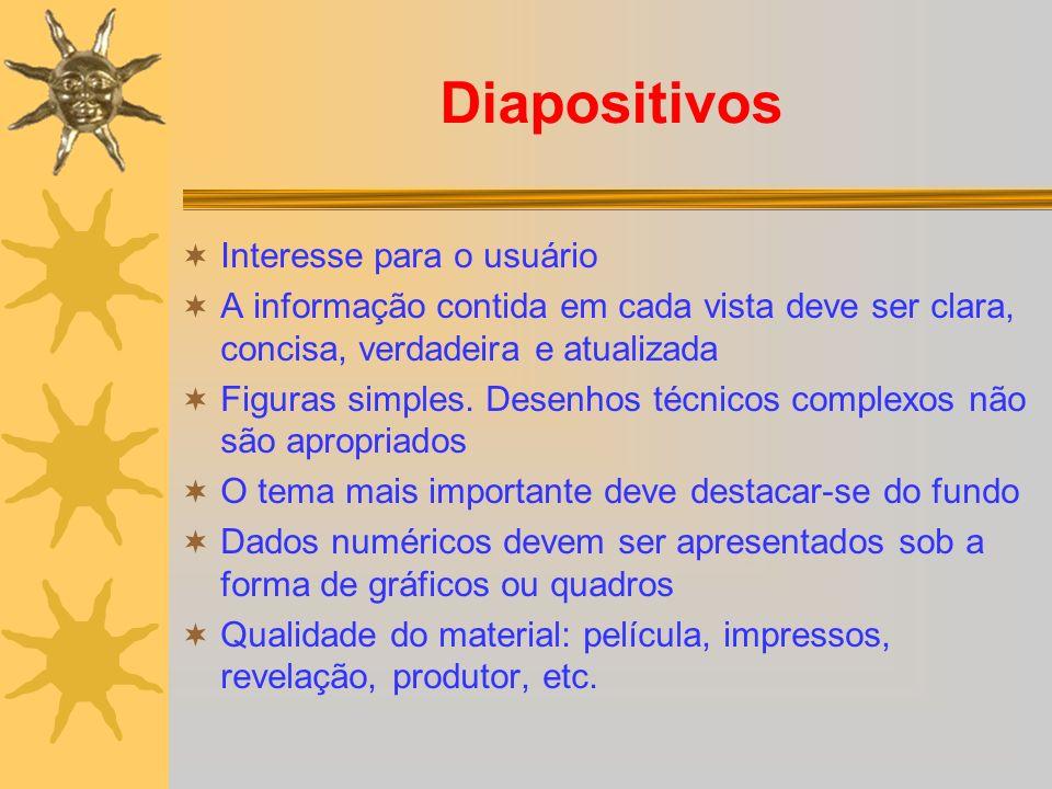 Diapositivos Interesse para o usuário