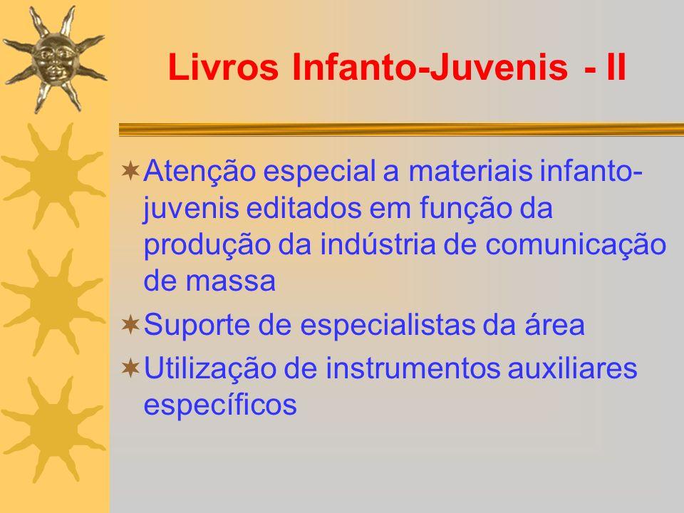 Livros Infanto-Juvenis - II