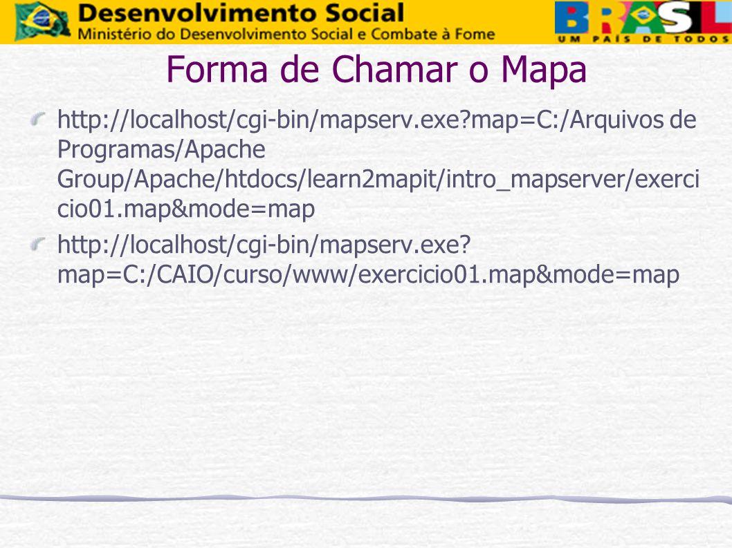 Forma de Chamar o Mapa