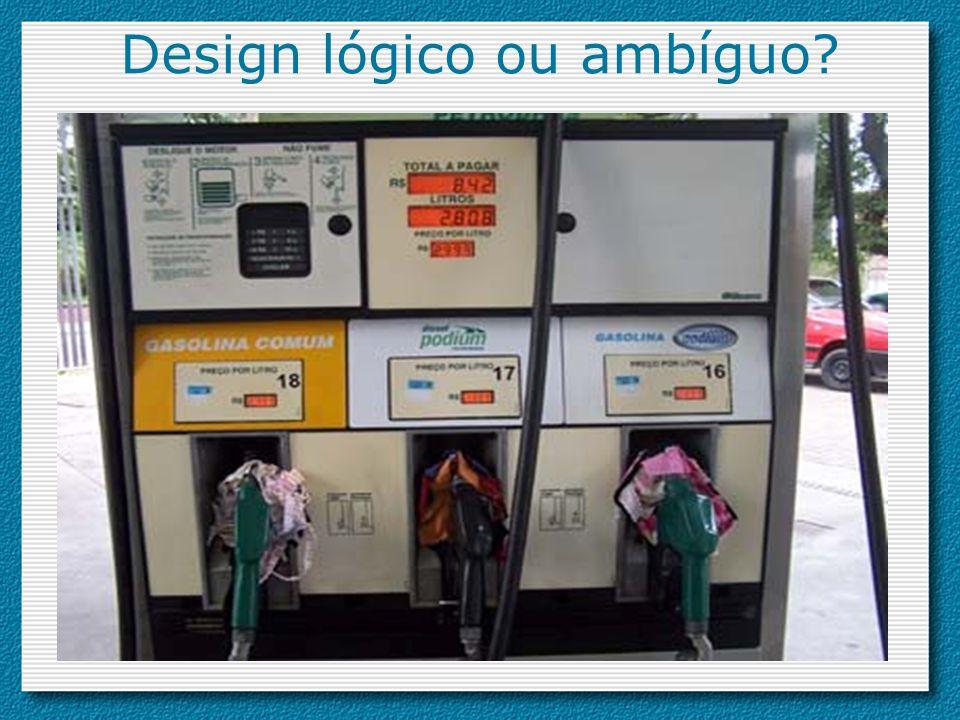 Design lógico ou ambíguo