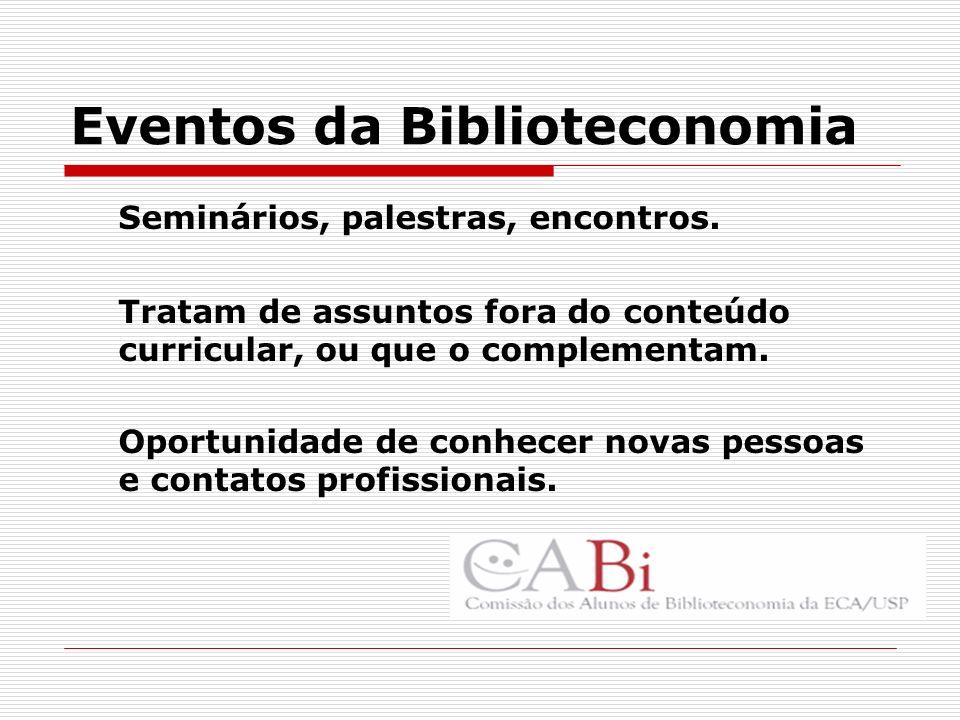 Eventos da Biblioteconomia