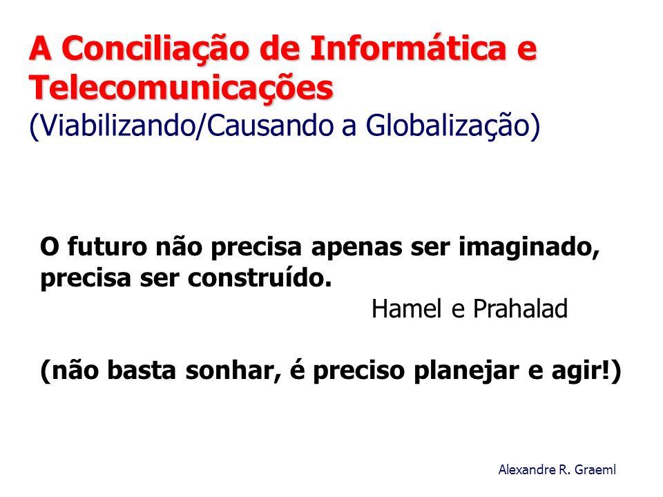 A Conciliação de Informática e Telecomunicações (Viabilizando/Causando a Globalização)