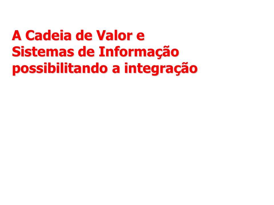 A Cadeia de Valor e Sistemas de Informação possibilitando a integração