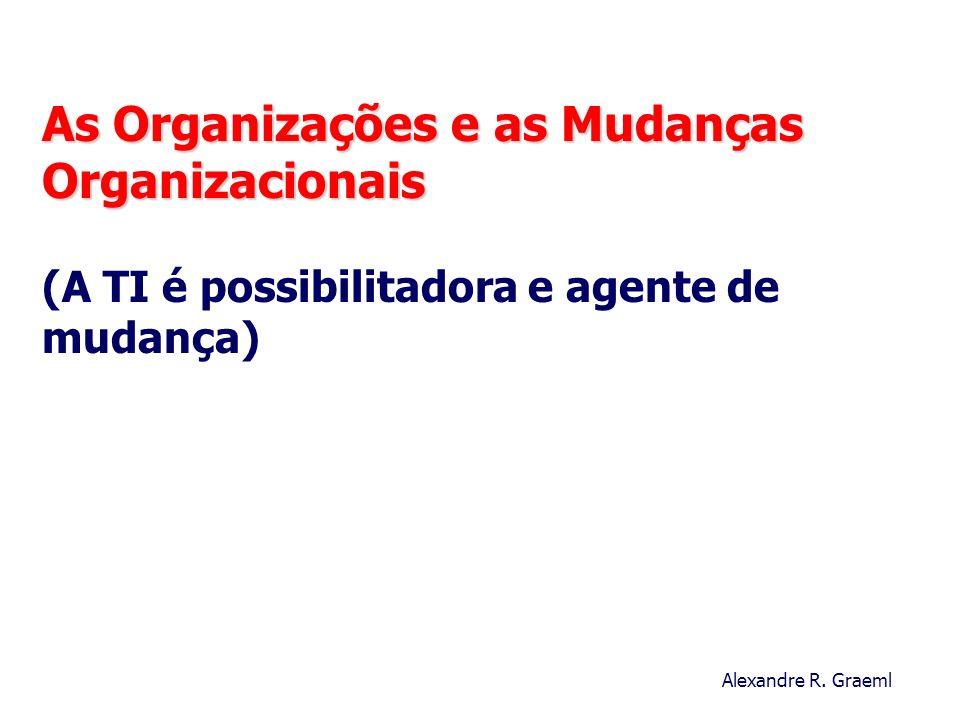 As Organizações e as Mudanças Organizacionais (A TI é possibilitadora e agente de mudança)