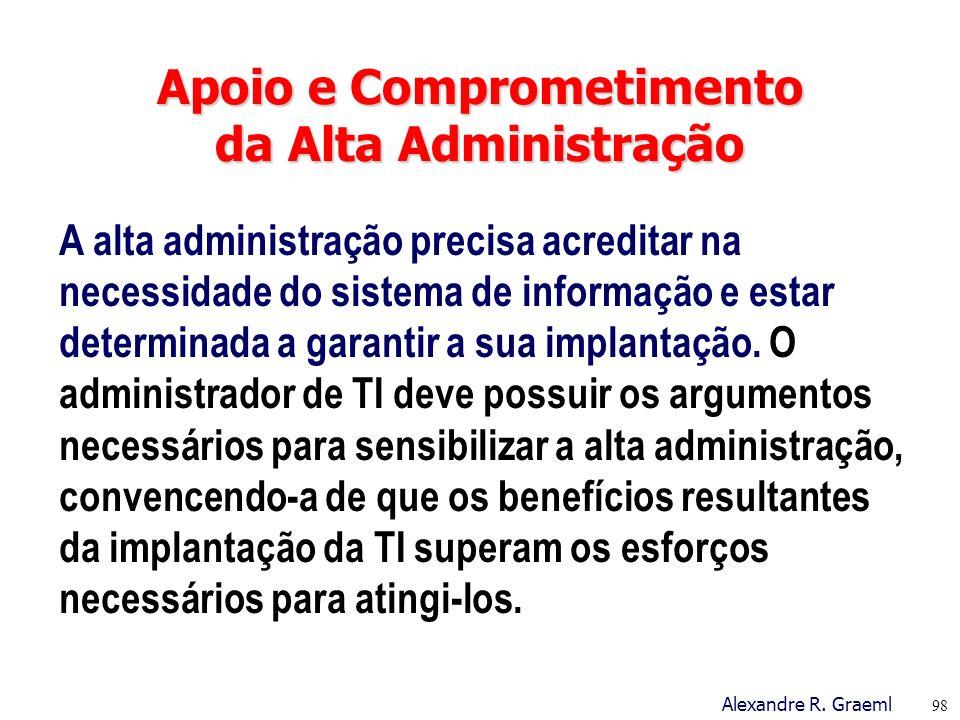 Apoio e Comprometimento da Alta Administração