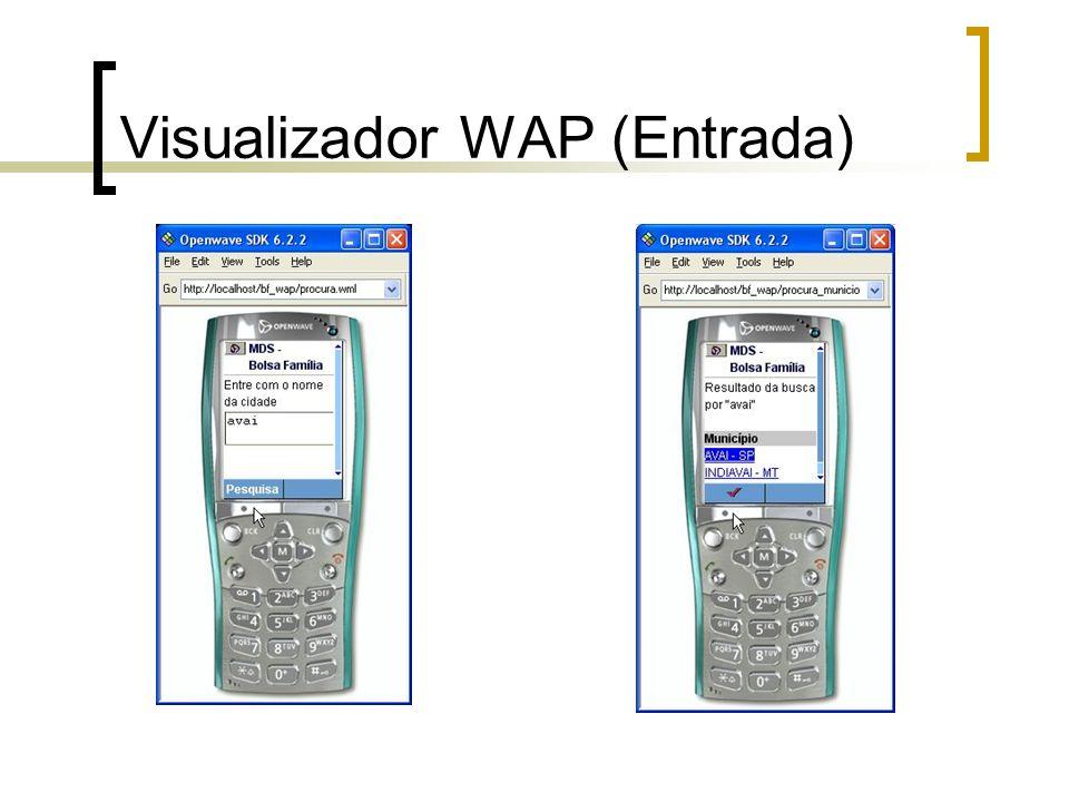 Visualizador WAP (Entrada)