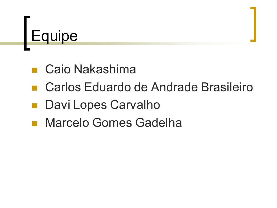 Equipe Caio Nakashima Carlos Eduardo de Andrade Brasileiro
