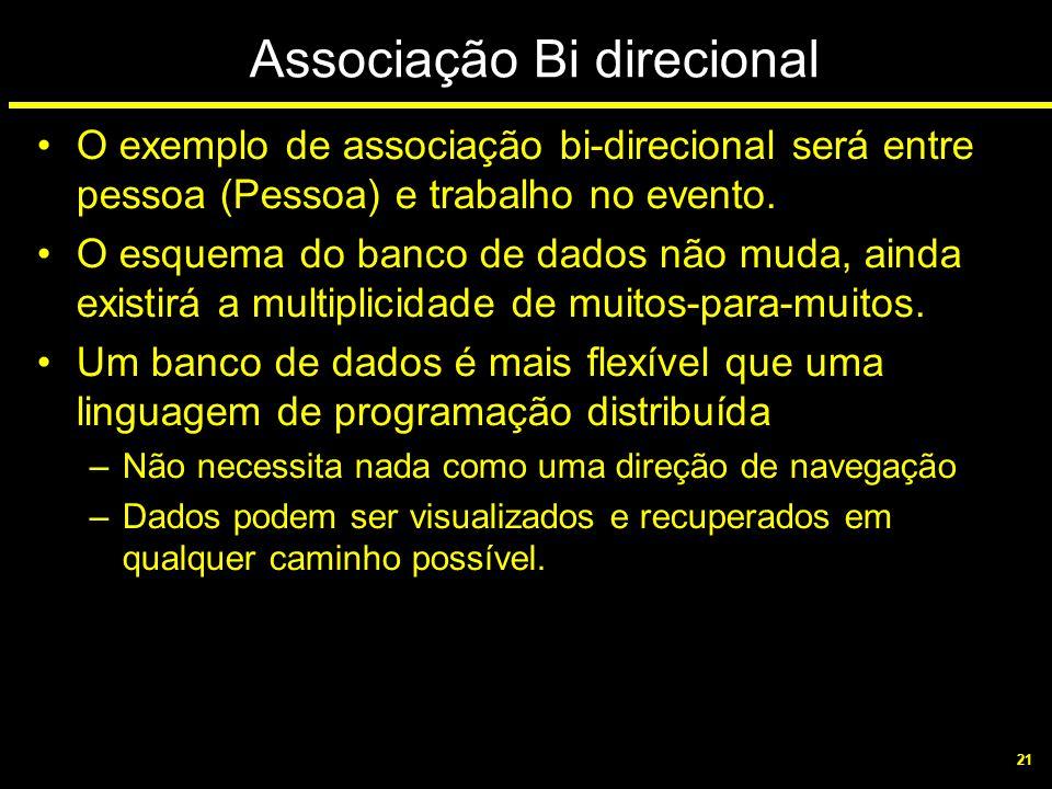 Associação Bi direcional