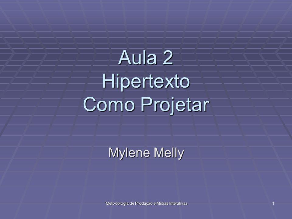Aula 2 Hipertexto Como Projetar