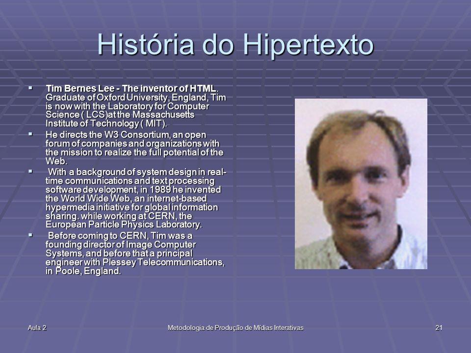 História do Hipertexto