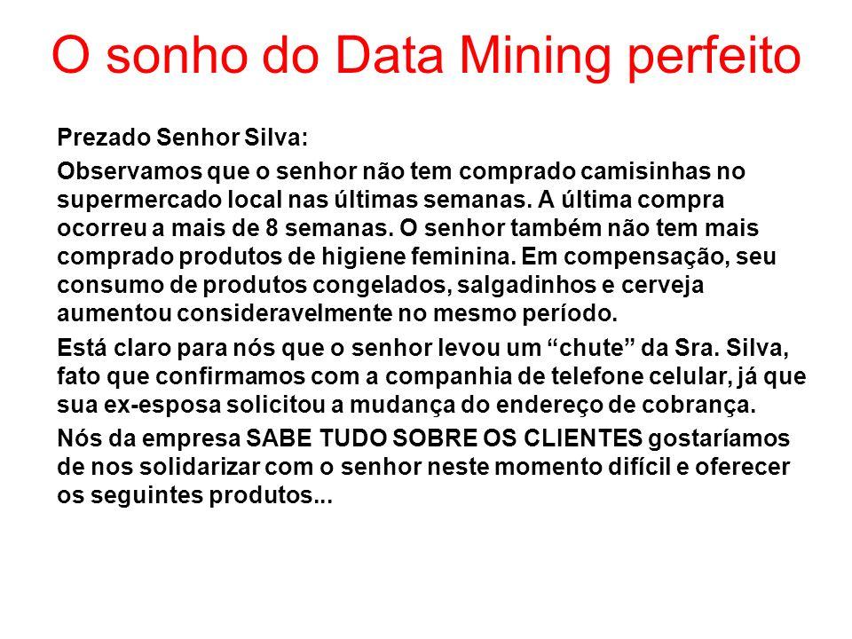 O sonho do Data Mining perfeito