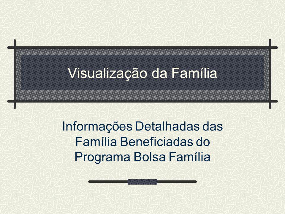 Visualização da Família
