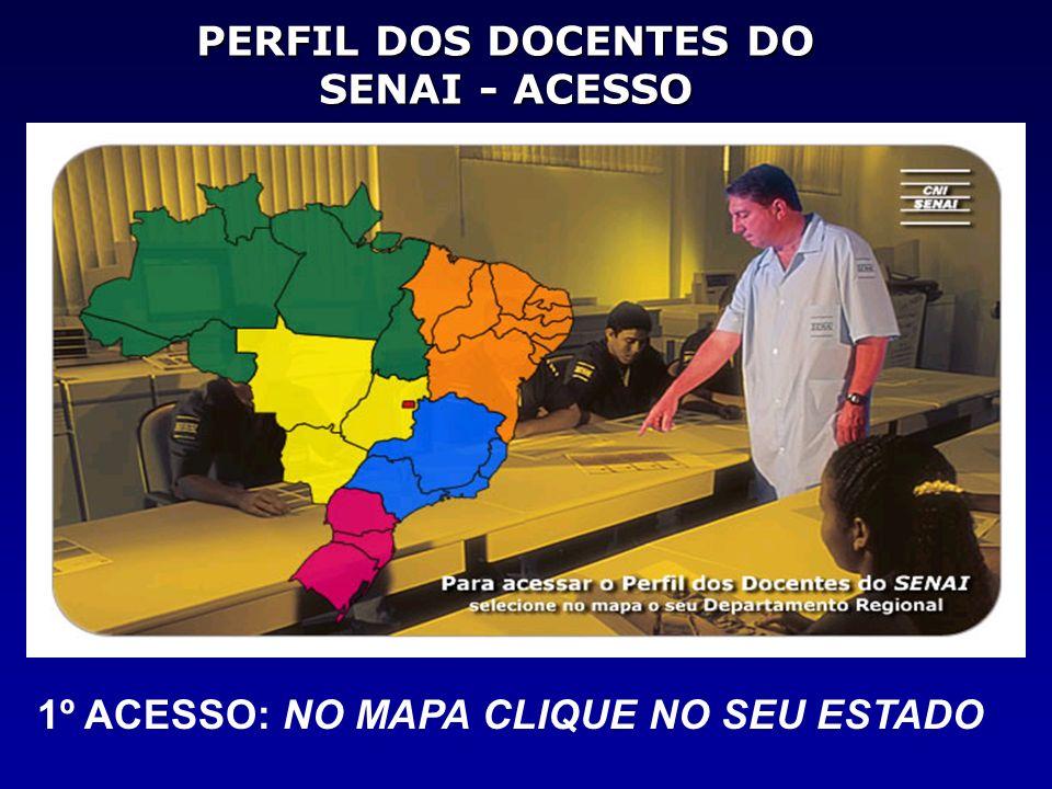 PERFIL DOS DOCENTES DO SENAI - ACESSO