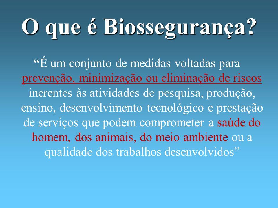 O que é Biossegurança
