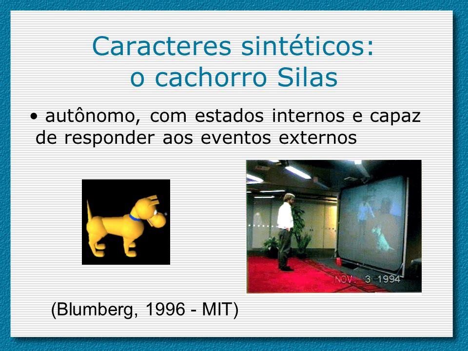Caracteres sintéticos: o cachorro Silas